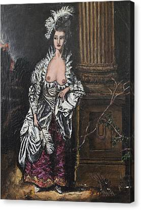 The Dishonorable Mrs. Graham Canvas Print by Christopher Winkler