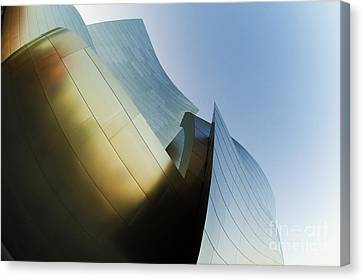 The Disney Concert Hall 14 Canvas Print by Micah May