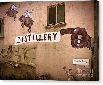 The Distillery Canvas Print