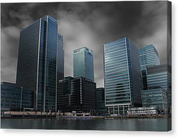 The Docklands Canvas Print by Martin Newman