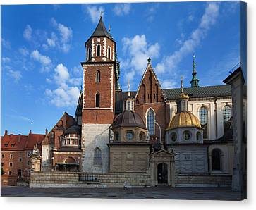The Domes Above The Sigismund Chapel Canvas Print by Panoramic Images