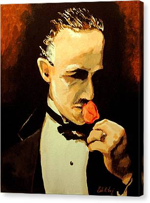 The Don And The Rose Canvas Print