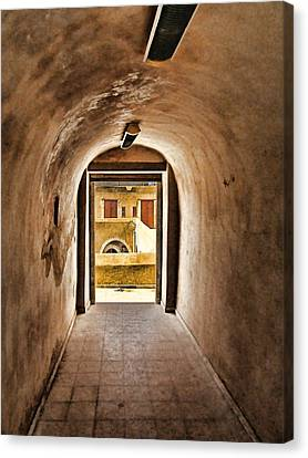 The Door 2 Canvas Print by Dhouib Skander