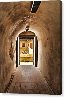 Architectur Canvas Print - The Door 2 by Dhouib Skander