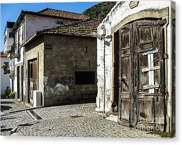 Canvas Print featuring the photograph The Door by Arlene Carmel