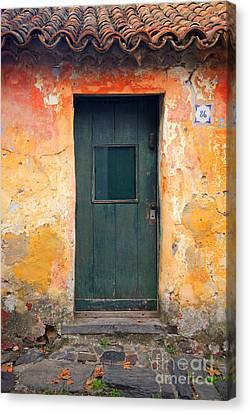 Canvas Print featuring the photograph The Door by Bernardo Galmarini