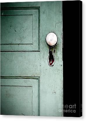 The Door Canvas Print by Liz Masoner