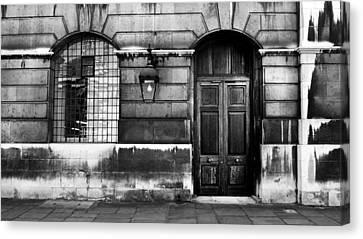The Door Canvas Print by Mark Rogan