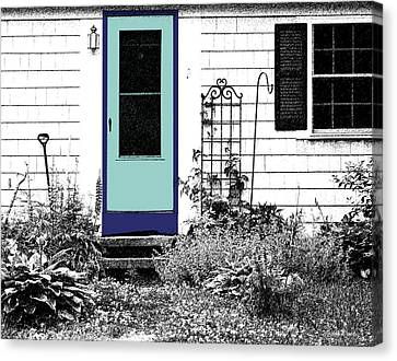 The Door Canvas Print by Michelle Wiarda