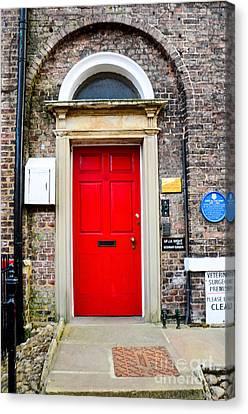 The Door To James Herriot's World Canvas Print