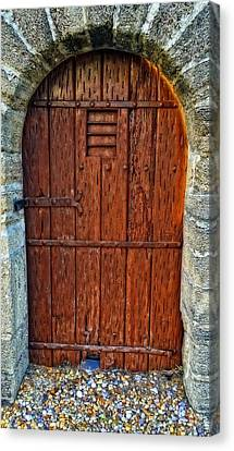 Augustine Canvas Print - The Door - Vintage Art By Sharon Cummings by Sharon Cummings