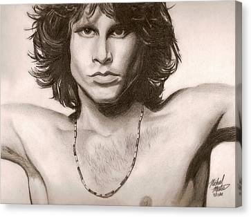 The Doors Canvas Print by Michael Mestas