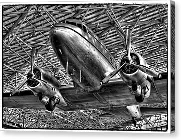 The Douglas Dc-3 Airplane II Canvas Print by David Patterson