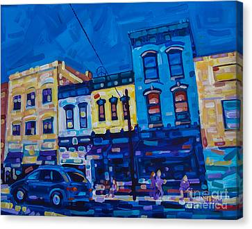The Downtown Canvas Print