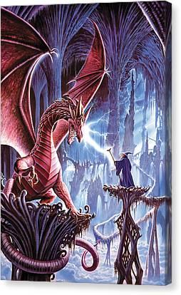 Crisp Canvas Print - The Dragons Lair by Steve Crisp