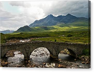 The Dramatic Isle Of Skye Canvas Print by Jacqi Elmslie