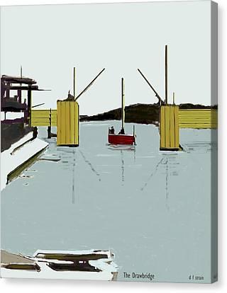 The Drawbridge   Number 4 Canvas Print