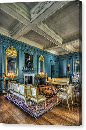 The Drawing Room Canvas Print by Ian Mitchell