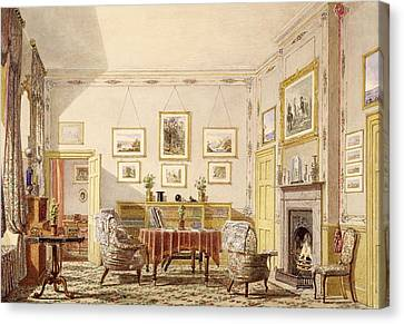 The Drawing Room, The Close Canvas Print by