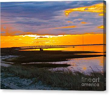 The Dream Of Sky Canvas Print by Q's House of Art ArtandFinePhotography
