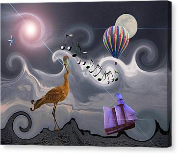 The Dream Voyage - Mad World Series Canvas Print