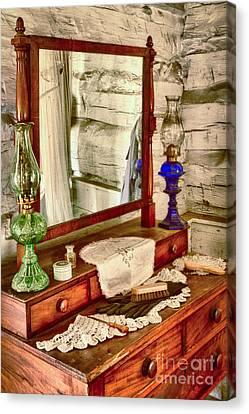 The Dresser Canvas Print by Inge Johnsson
