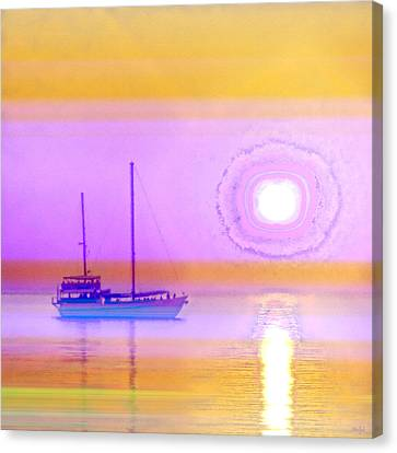 Canvas Print featuring the photograph The Drifters Dream by Holly Kempe