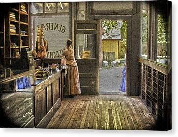 The Dry Goods Store Canvas Print