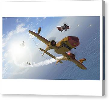 The Duck Canvas Print by Hangar B Productions