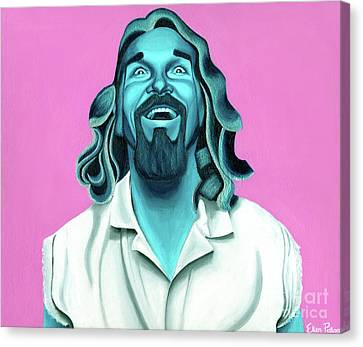 The Dude Canvas Print by Ellen Patton