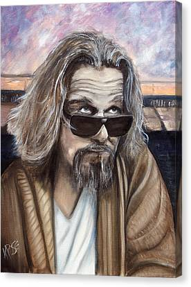 The Dude Canvas Print by James Kruse