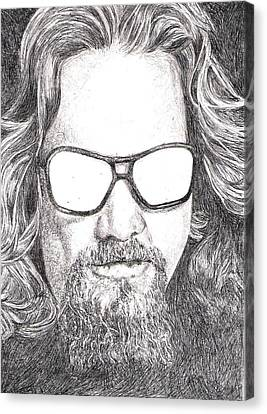 The Dude Canvas Print by Paul Smutylo
