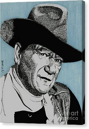 The Duke Canvas Print by Cory Still