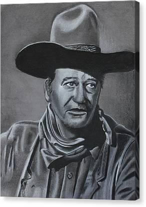The Duke Canvas Print by Hunter Martin