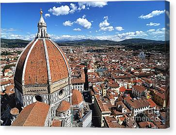 The Duomo Florence Canvas Print by Jeff Lewis