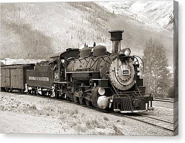 The Durango And Silverton Canvas Print
