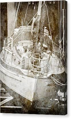 Canvas Print featuring the digital art The Dutchman by Davina Washington