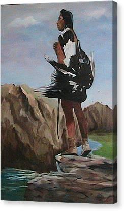 The Eagle Hunter Canvas Print