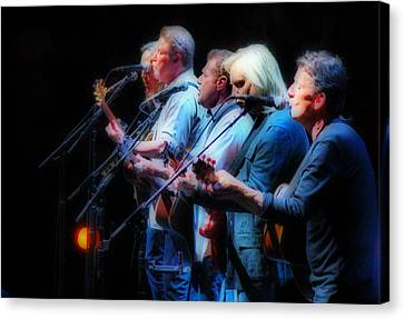 The Eagles Inline Canvas Print
