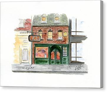 The Ear Inn Canvas Print