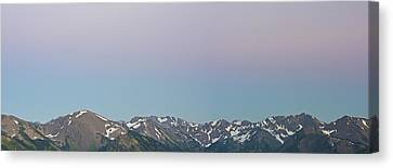 The Earth's Shadow Canvas Print by Jon Glaser