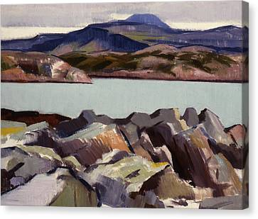 The East Bay  Iona Canvas Print by Francis Campbell Boileau Cadell
