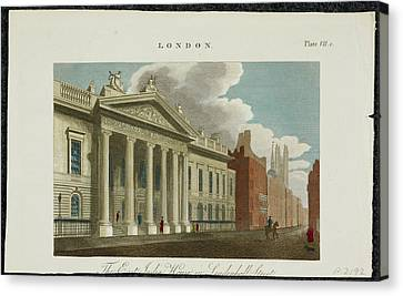 The East India Company Headquarters Canvas Print