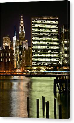 The East River Canvas Print by JC Findley