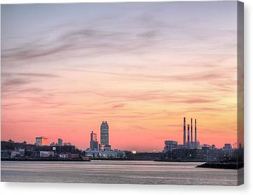 The Edge Of Queens Canvas Print by JC Findley