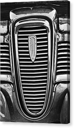 The Edsel Grill Canvas Print by Paul Mashburn