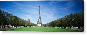 The Eiffel Tower Paris France Canvas Print by Panoramic Images
