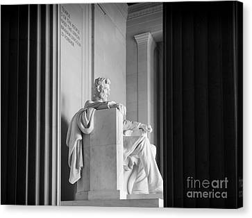 D.c. Canvas Print - The Emancipator by Inge Johnsson