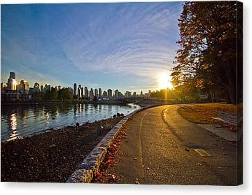 Canvas Print featuring the photograph The Emerald City by Eti Reid