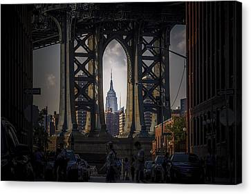 The Empire State  Canvas Print by Anthony Fields